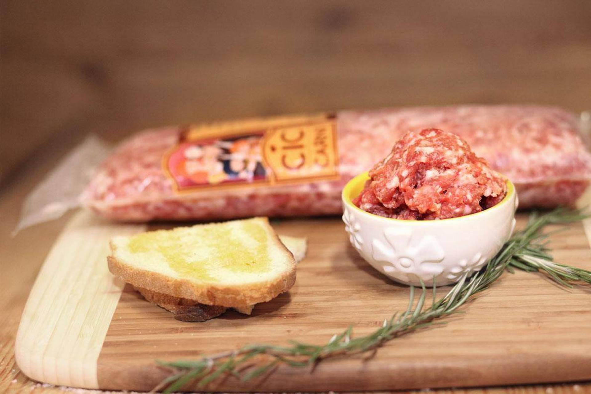 Pasta di salsiccia abruzzese 800gr spedizione in 24h di for Cucinare 1 kg di pasta