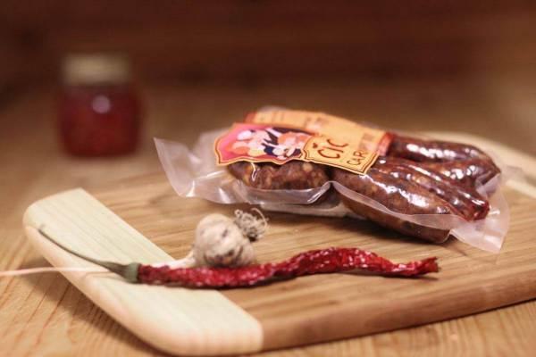 Salsiccia Stagionata di Fegato Suino  gr