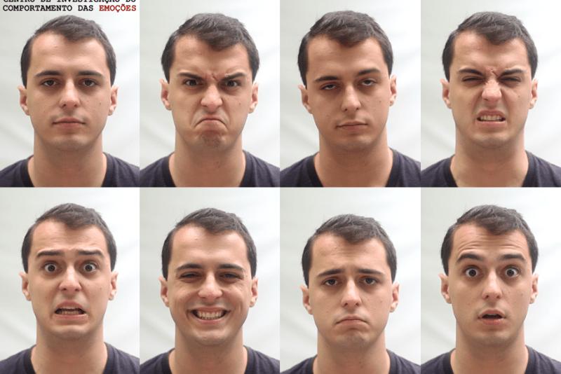 7 Emoções Básicas - Comportamento das Emoções CICEM
