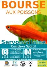 Bourse aquariophile les 3 et 4 mars 2018 à Servon sur Vilaine