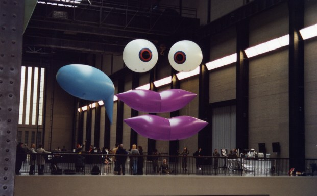 Feature Creature - Tate Modern installation view. CiCi Blumstein 2008