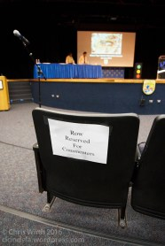 Reserved Seats for Commenters