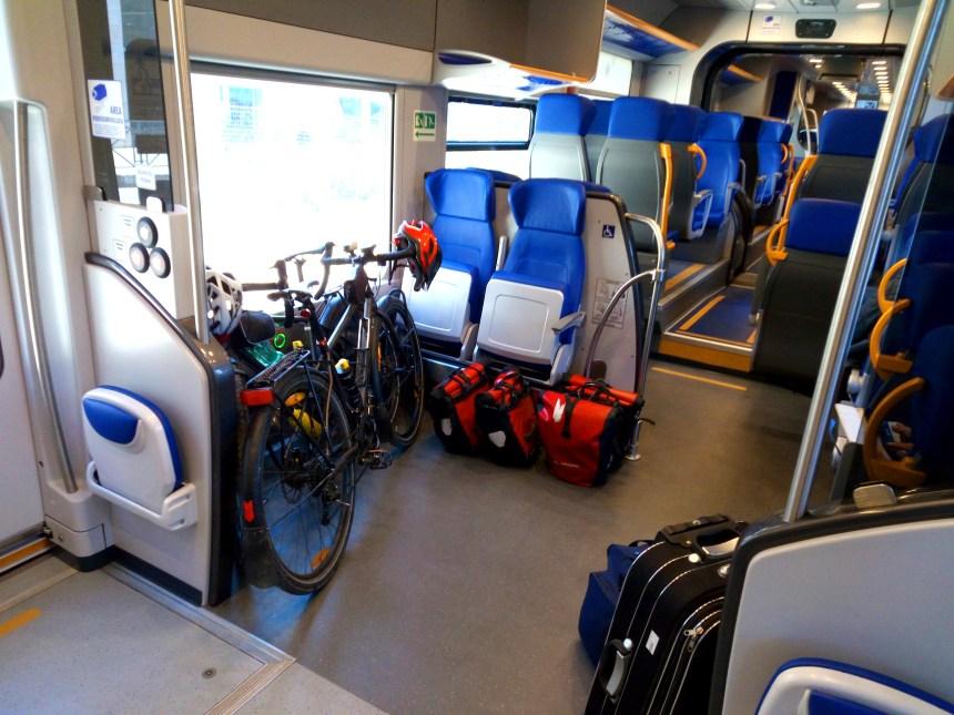 Le biciclette sull'ETR 425