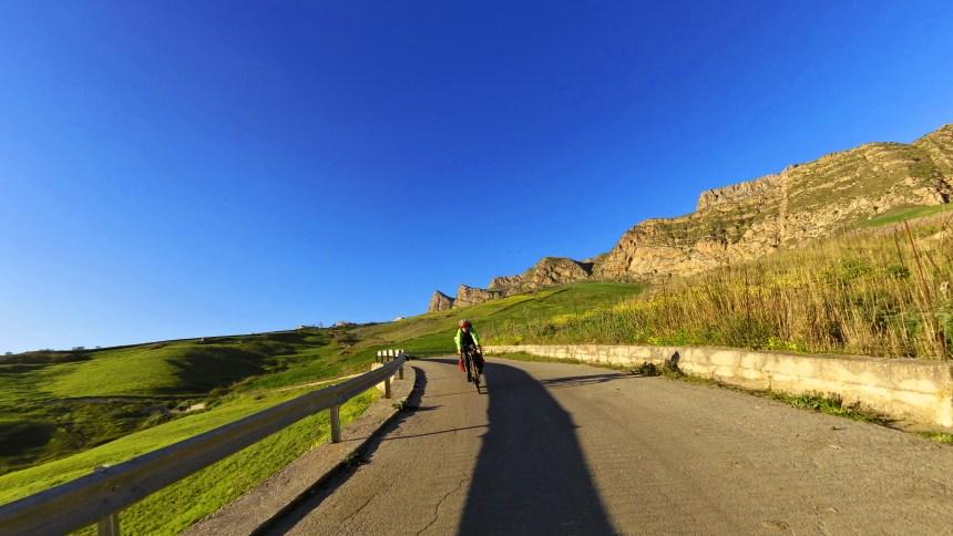 Bike Pilgrims in Sicily