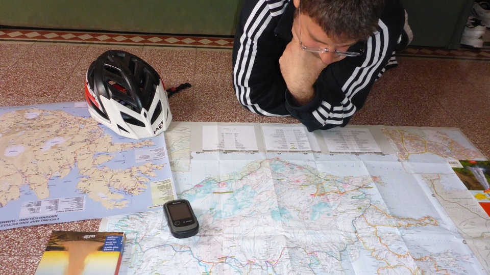 cartografia per la bici