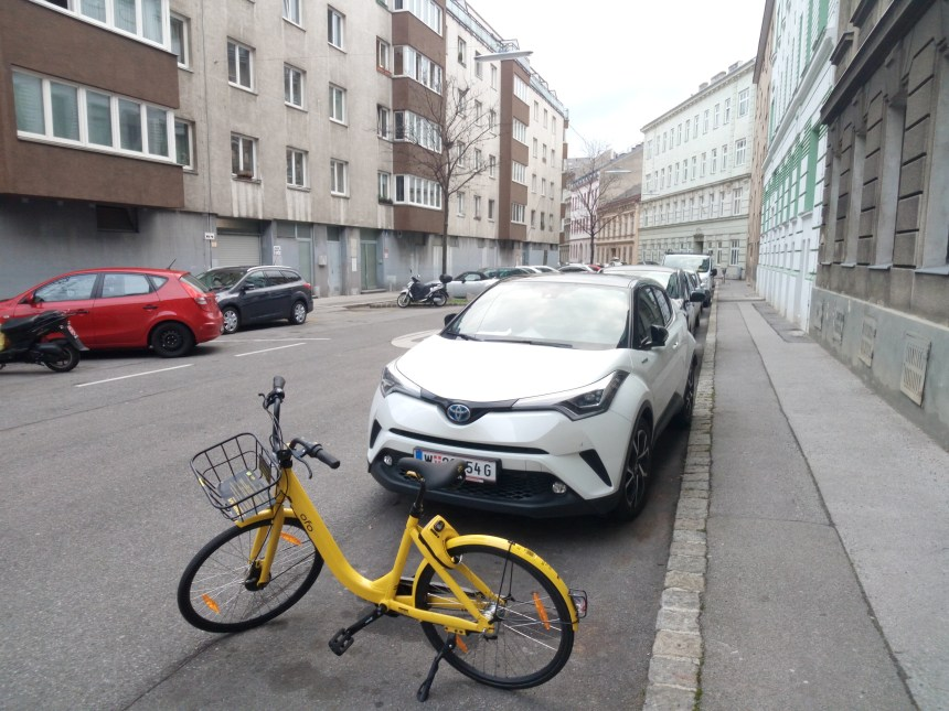 bicicletta free floating a vienna