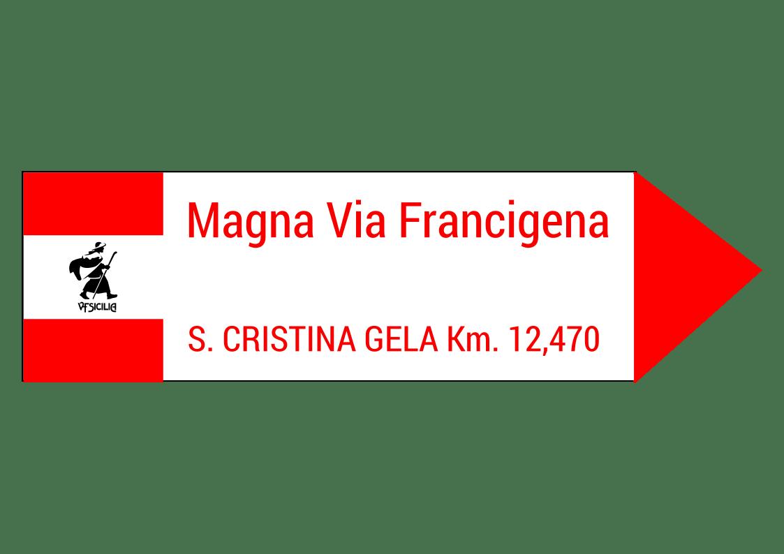 segnaletica magna via francigena