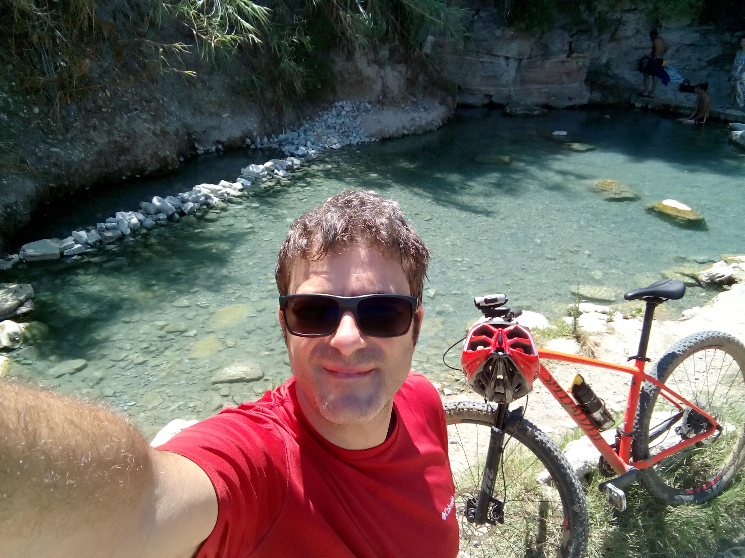 Segesta in mountain bike