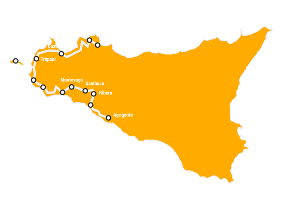 Best of the West Cycling Holiday in Sicily