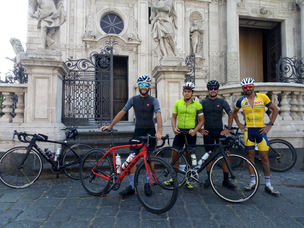Road cycling in Sicily and Training Camps for Road Cyclists