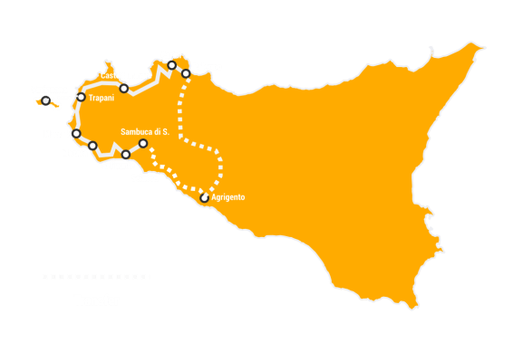 Cycling tour in Sicily Best of the West
