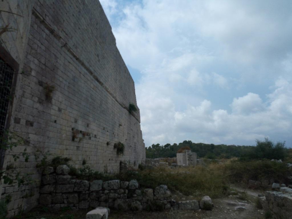 mura di cinta a noto antica