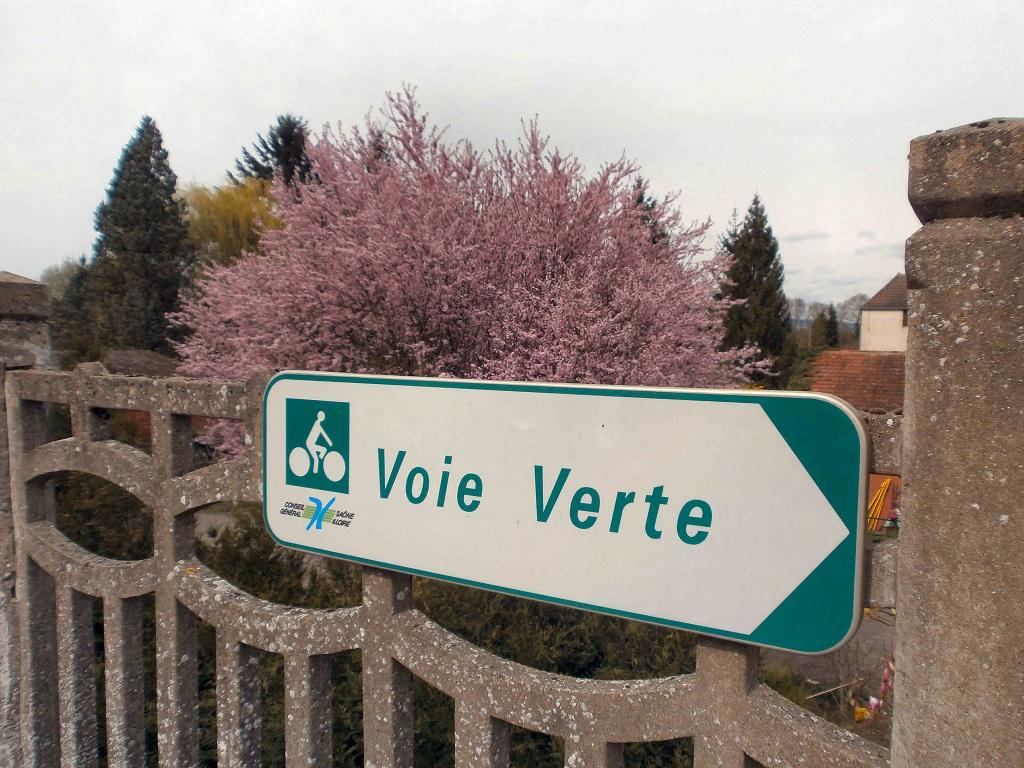 segnaletica per ciclisti in Francia
