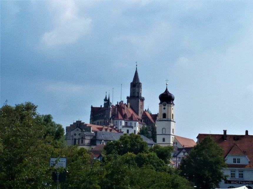 Fairytale castle in Sigmaringen