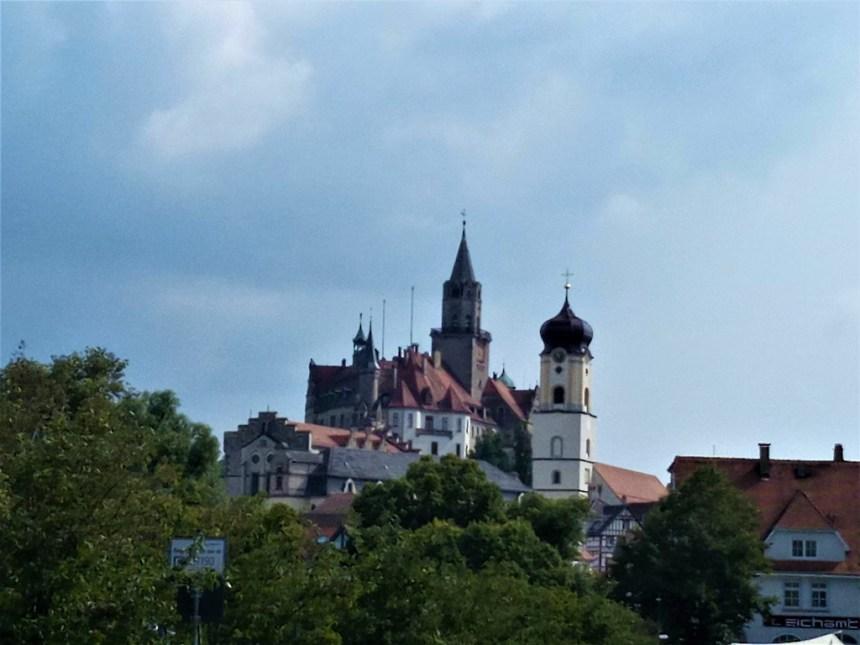 Fairytale castle in Sigmaringen