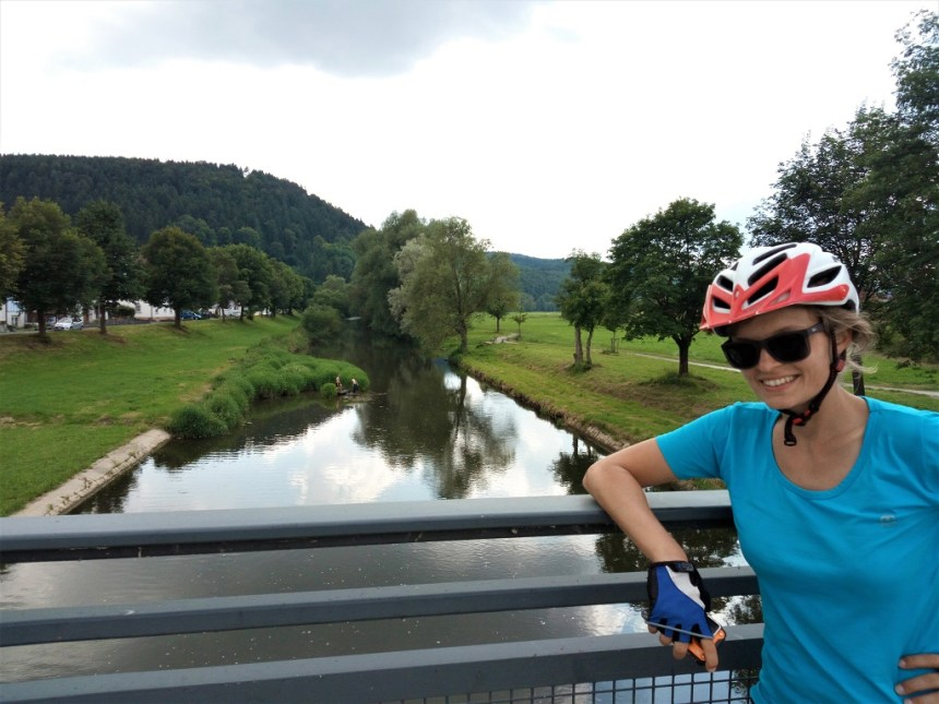 the sources of the Danube by bike