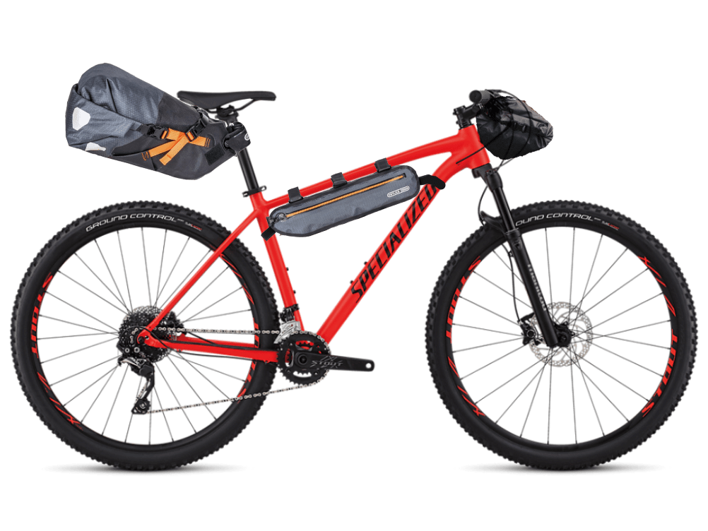 Specialized Rockhopper 29 PRO in Bikepacking