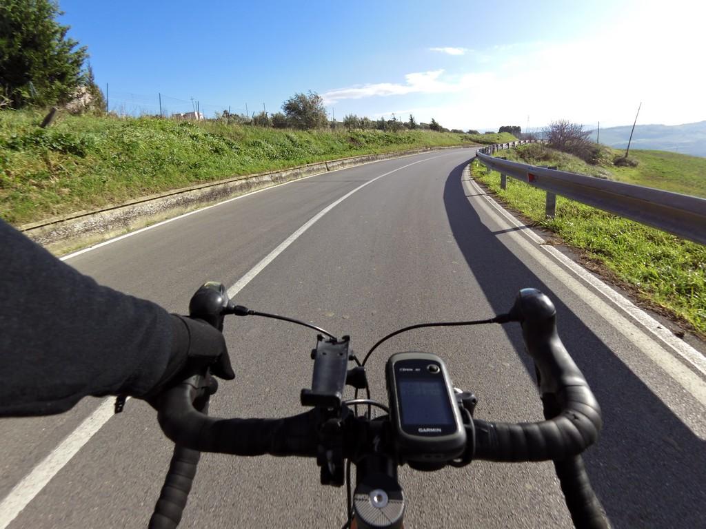 avventura in bici in Sicilia sull'Etna