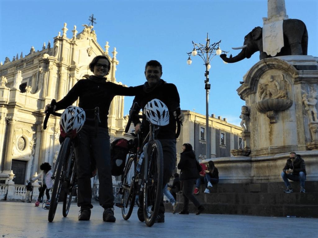 Affitto bici gravel e mountain bike a Catania