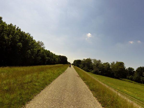 Viaggio in bicicletta da Vienna a Bratislava