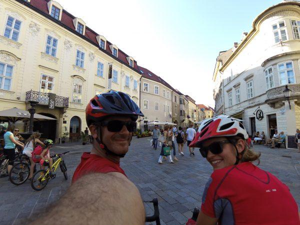 Da Vienna a Bratislava in bicicletta