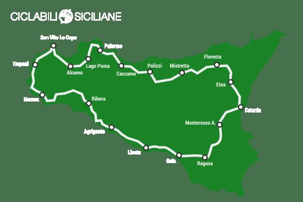 giro della sicilia in mountain bike solo mappa