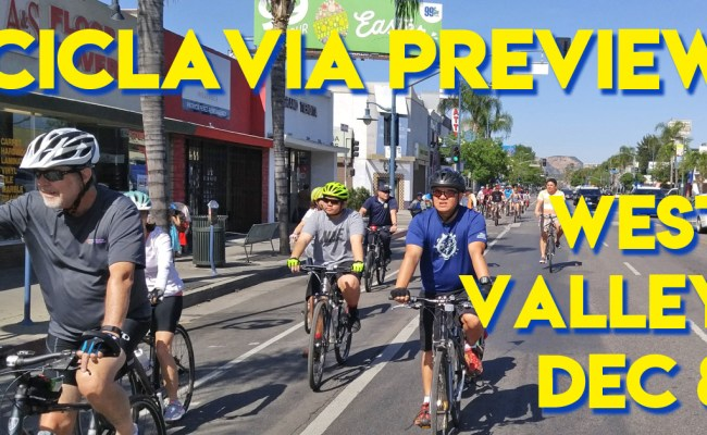 ciclavia west valley preview