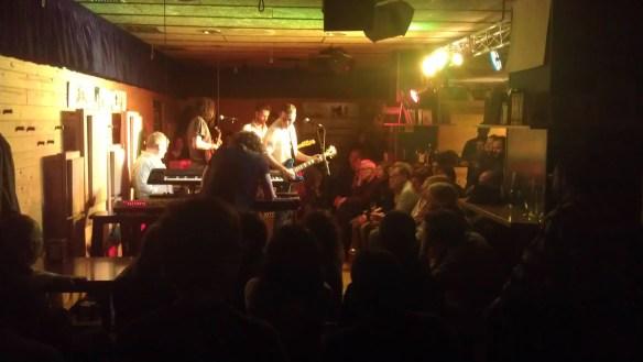 Alex Zayas en el concert del 29 de novembre de 2013