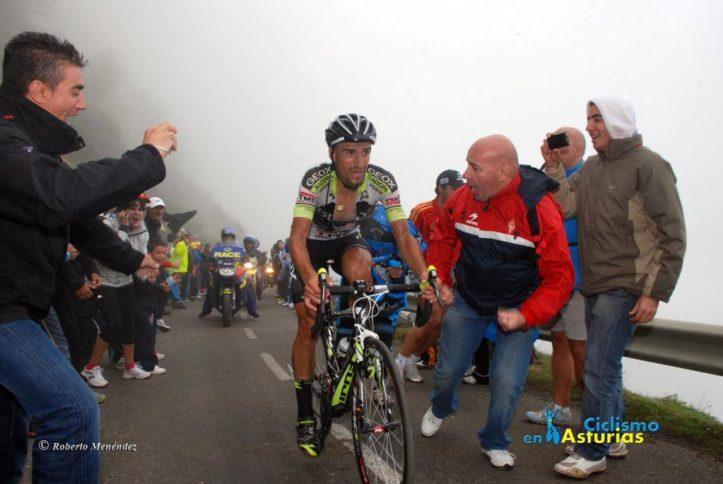 Juanjo Cobo en la vuelta 2011