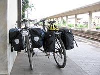 Biciclette in stazione
