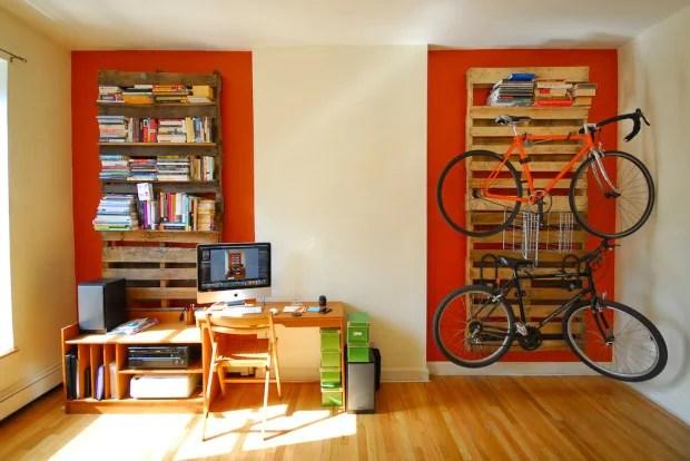 6 suportes decorativos para bicicletas