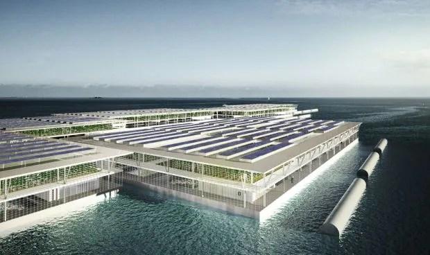 Projeto de fazenda flutuante possibilita o plantio orgânico em alto mar