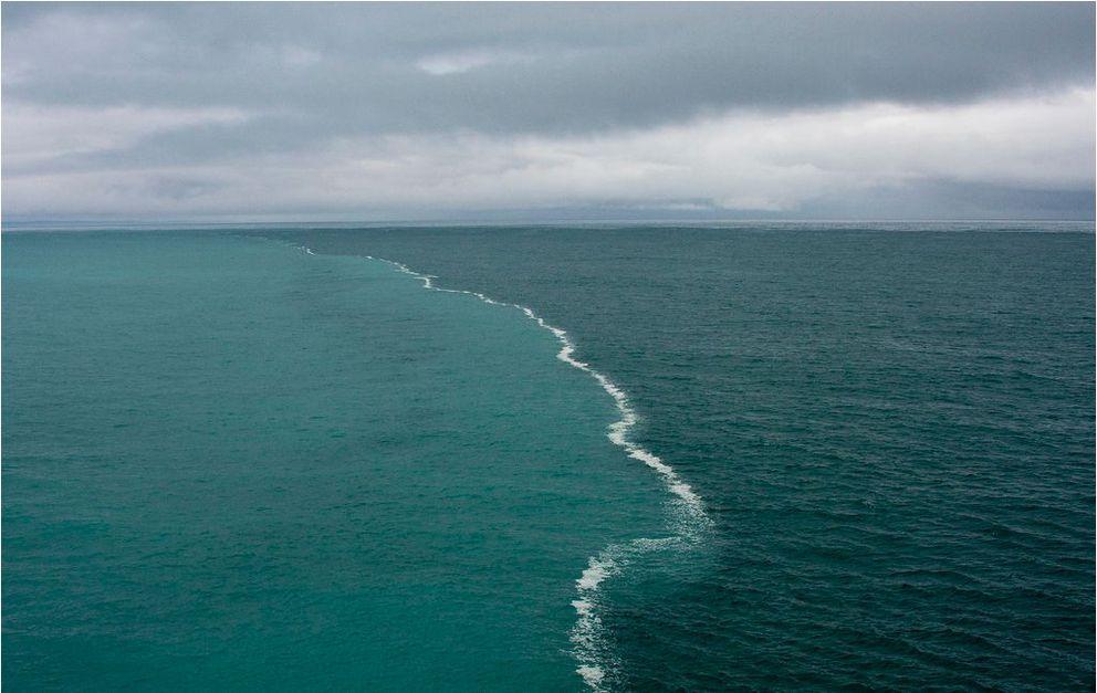 open water in ocean