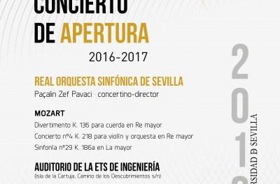 CONCIERTO DE APERTURA CURSO 2016/2017
