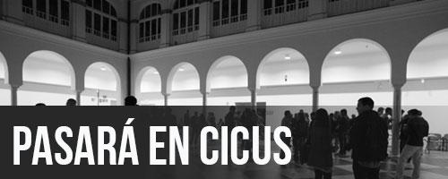 PASARÁ EN CICUS · SEMANA DE LAS LETRAS