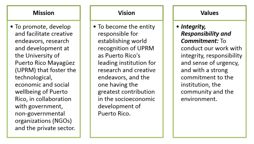rdc mission and vision values
