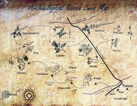 Mapa das liñas de Nasca