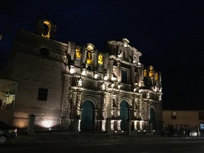 A Catedral. Iluminacións nocturnas