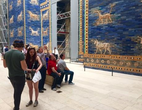 Portas de Ishtar no Museo de Pérgamo