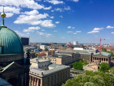 Illa dos Museos dende a Catedral de Berlín