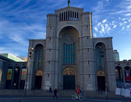 A pouco interesante Catedral de Concepción