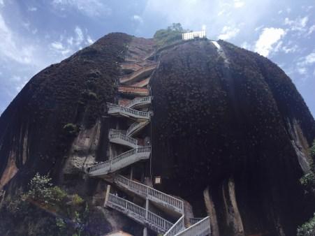 Escadas de subida