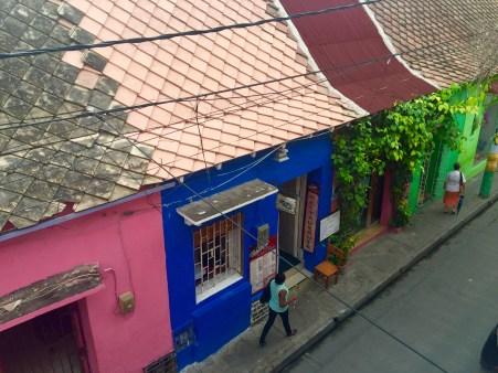 Barrio de Getsemaní en Cartaxena de Indias