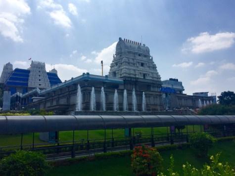 Iskcon Temple dedicado a Krishna
