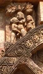 Detalle do templo