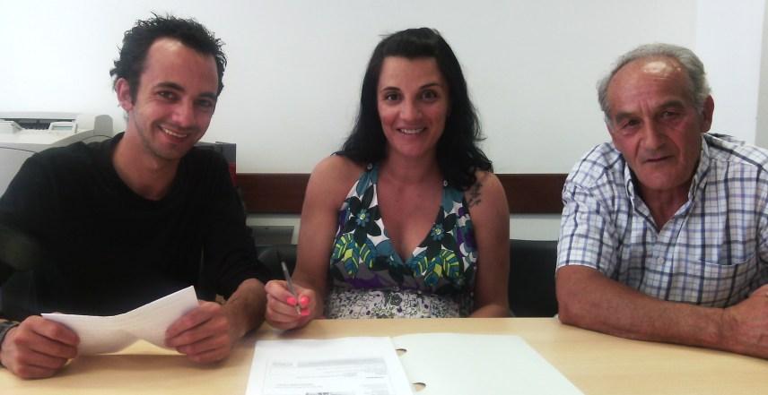 Telmo Melo, Marília Santos e José Soares, 19 de Junho de 2015