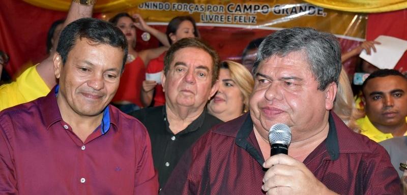 Baiá e Dr. Elias, candidatos a prefeito e vice-prefeito de Campo Grande do Piauí