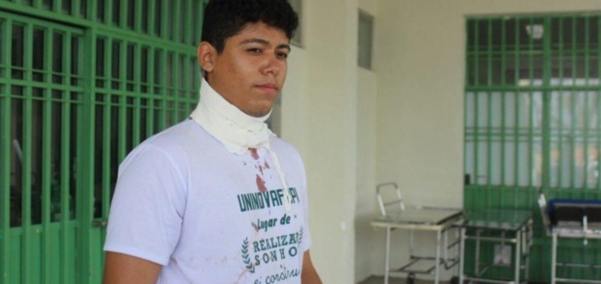 Estudante é baleado dentro de ônibus coletivo em Teresina