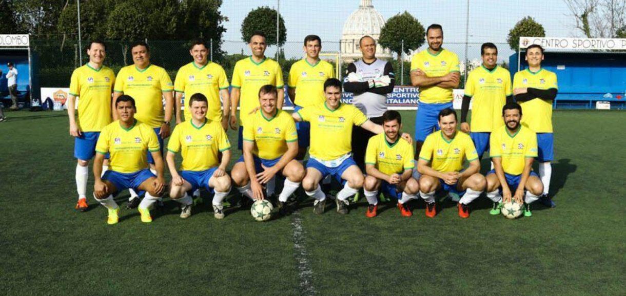 Padre Piauiense integra a seleção brasileira de Padres em Roma