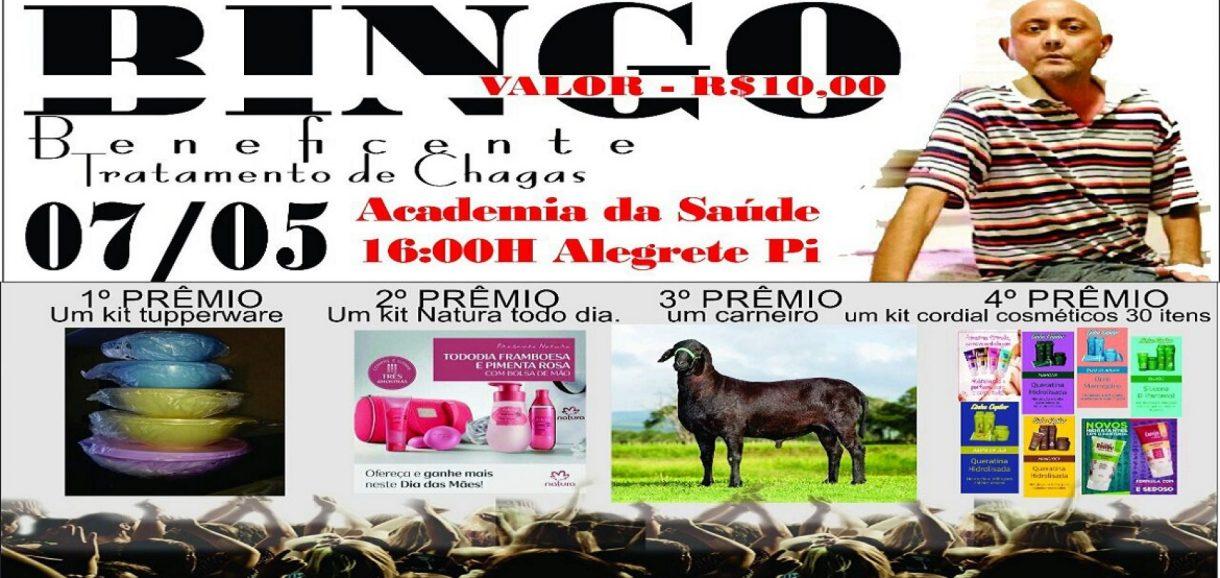ALEGRETE | Grupo de amigos promove bingo beneficente neste domingo (07) para ajudar homem de Pio IX
